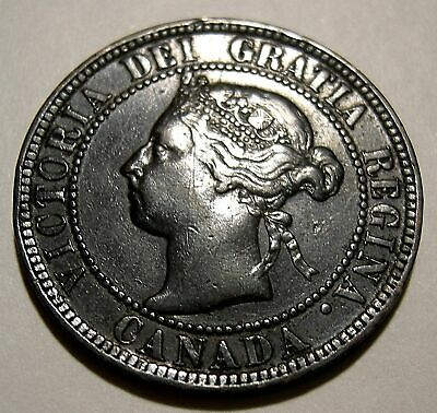 1 Cent 1896  VF   ...................(add lots $0.25 ea.)