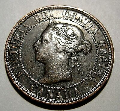 1 Cent 1896  VF   ..................(add lots $0.25 ea.)