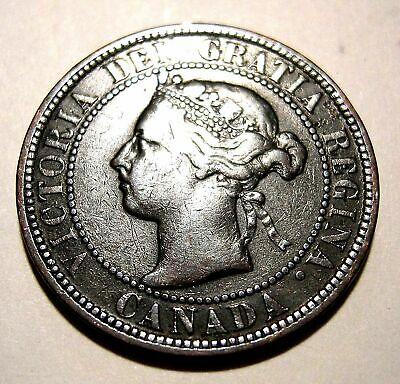 1 Cent 1900H  VF  .....................(add lots $0.25 ea.)