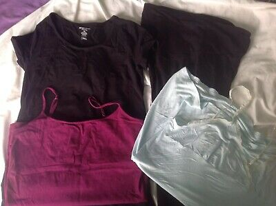 Maternity Mixed Bulk Bundle Size 14 Top  And Leggings  And Nightie And Singlet