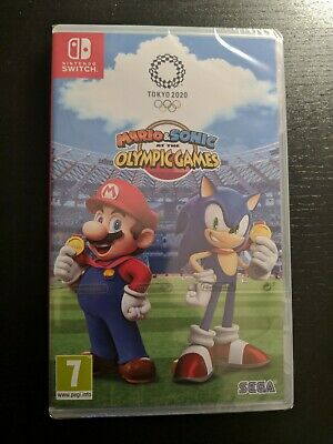 Mario & Sonic at the Olympic Games Tokyo 2020 Nintendo SWITCH NEW SEALED