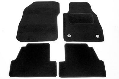 TAILORED RUBBER CAR MATS WITH BLACK TRIM 2887 VAUXHALL MOKKA 2012 ONWARDS