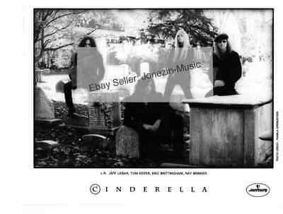 Cinderella (band) - 8x10 official promo publicity press photo - Free US shipping