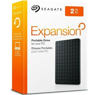 """Brand NEW Seagate 2TB Expansion Portable 2.5"""" HDD External Hard Drive USB 3.0"""