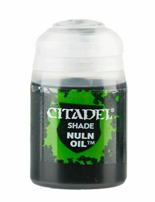 Shade: Nuln Oil (24ml), Citadel Paint, Warhammer 40,000 / Age of Sigmar