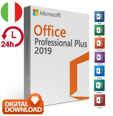 Microsoft Office 2019 Professional Plus Codice OFFICIAL ITALIA download DIGITALE