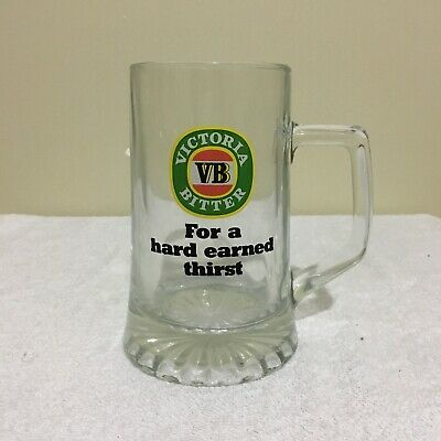Victoria Bitter VB For A Hard Earned Thirst Beer Stein Mug