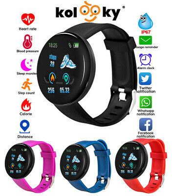 Smart Watch Fit Band Sport Activity Tracker Bluetooth iPhone Android Step Count