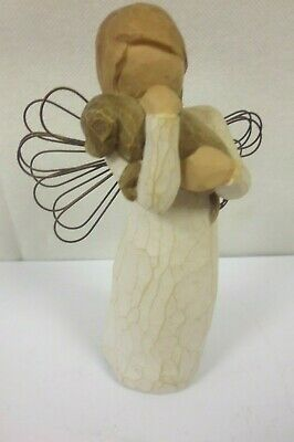 "Willow Tree Angel Of Friendship Figurine 5  1/2"" - Unboxed           (Chi)"