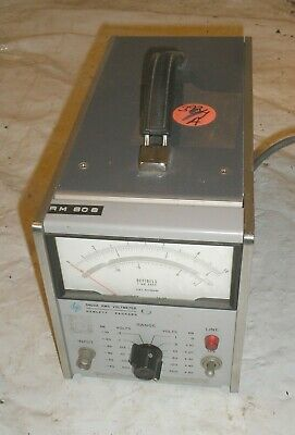 HP 3400A True RMS Voltmeter - Needs New Fuse Holder