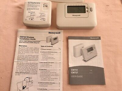 Used Honywell C M 727 Programmable Room Thermostat