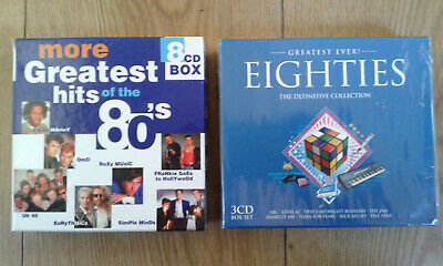 Cd Box Sets - MORE GREATEST HITS OF THE 80s plus GREATEST EVER EIGHTIES