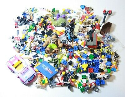 Lego MINIFIGURES LOT Mini Figure Disney Marvel Accessories and More