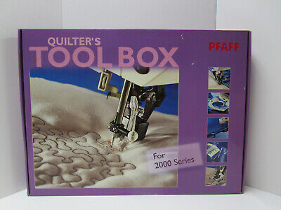 Pfaff Quilters Tool Box For 2000 Series     New   Sealed