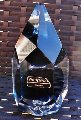 Vintage Wedgwood Galaxy Ronald Stennet Wilson Multi Faceted Paperweight
