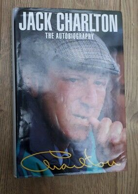 Jack Charlton The Autobiography  Signed England World Cup Football HB First ed