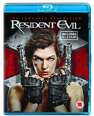 Resident Evil The Complete Collection Blu-Ray NUOVO