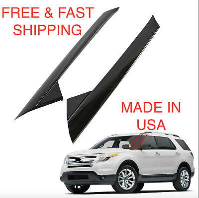 For 2011-19 Ford Explorer Windshield Outer Trim Pillar Molding Right &Left Side