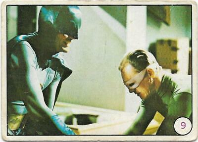 1967 Scanlens Batman BAT LAFFS  # 9 ****