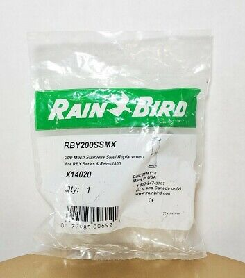 Rain Bird RBY200SSMX - 200 Mesh Stainless Steel Replacement Screen FREE SHIPPING