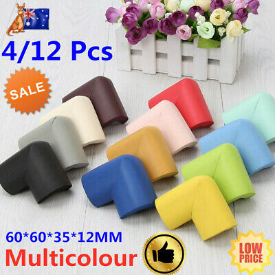 12X Baby Safety Edge Desk Table Rubber Foam Furniture Corner Protector Guard Kid