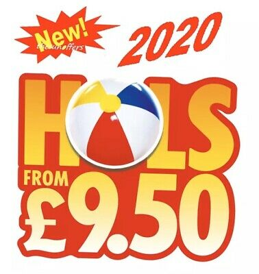 * NEW * SUN HOLIDAY 2020 - All 10 codes to book Sun £9.50 Holidays New For March