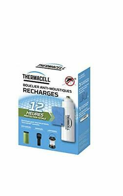 THERMACELL THRECHARG12 Recharges 12h pour Bouclier Anti-Moustiques