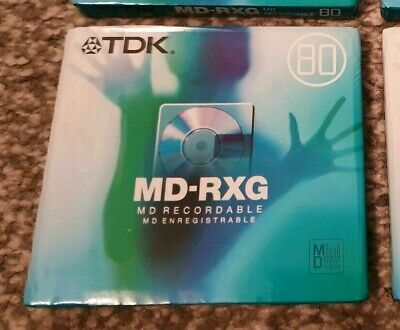 TDK MD-RXG 80 Mindisc x 10 - Sealed