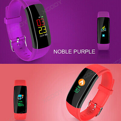 XGODY Smart Watch Sport Heart Rate Fitness Tracker Waterproof for Android iPhone