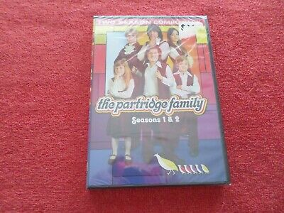 The Partridge Family - Seasons 1 & 2 - 4 Disc Set - (Dvd, 2014) - New