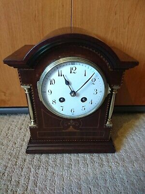 A Stunning Antique Striking Mantel Clock By Japy Freres