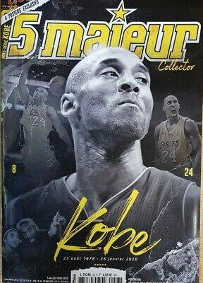 Bryant Kobe - 5 Majeur Magazine Special Hommage