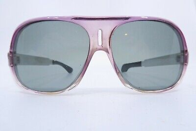 Vintage 70s sunglasses with aluminium sides made in Germany SMART ***