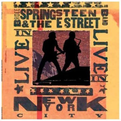Bruce Springsteen and the E Street Band Live in Nyc CD NUOVO