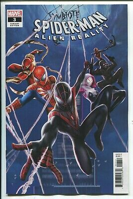 Symbiote Spider-Man: Alien Reality #3 Jie Yuan Chinese Connecting Variant Cover