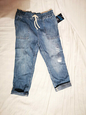 Baby GAP Toddler Girls Pure Cotton Blue Denim Jeans Age 3 BNWT