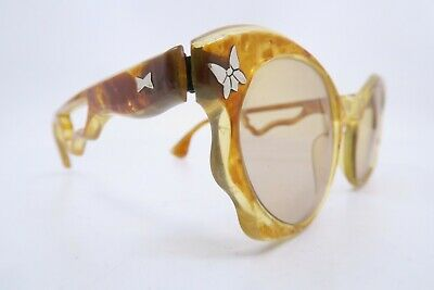 Vintage 40s sunglasses with lightly tinted glass lenses women's M Utterly Deluxe