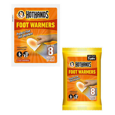 Hot Hands Foot/Toe Warmers (Pack of 5 Pairs)