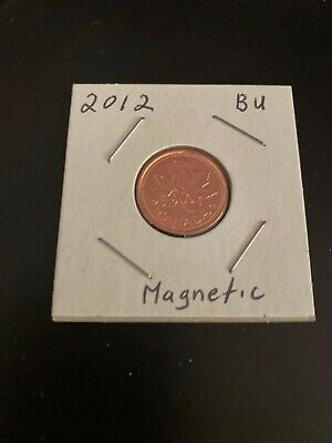2012 Uncirculated Canadian Penny $0.01 Magnetic  **LAST YEAR OF THE PENNY**