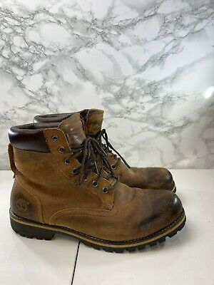 Timberland Earth Keeper Rugged 6 Inch Mens Waterproof Boots Size UK 10 VGC
