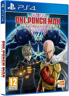 One Punch Man: A Hero Nobody Knows Ps4 Italiano Videogioco Play Station 4 Nuovo