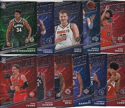 2019-20 19-20 Panini Optic Basketball My House Inserts 1-20
