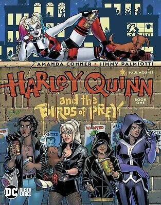 HARLEY QUINN & THE BIRDS OF PREY 1 (of 4) AMANDA CONNER 1st PRINT NM