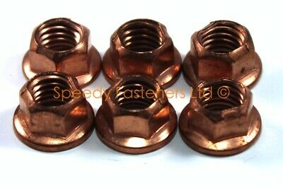 6x Light Weight Kart Karting Copper Wheel K Nuts m8 10mm Spanner Cadet Honda