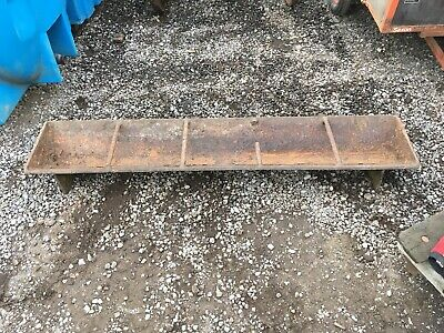 architectural antiques Salvage Cast Iron Pig Trough Garden Planter