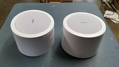 Pair of Bose FreeSpace DS 16F Celling Mount Loudspeakers Speakers