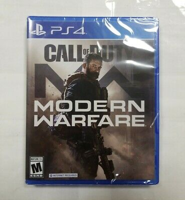 "Call of Duty: Modern Warfare (Sony PlayStation 4, 2019) ""NEW/SEALED"""
