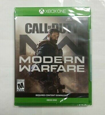 "Call of Duty: Modern Warfare (Microsoft Xbox One, 2019) ""NEW/SEALED"""