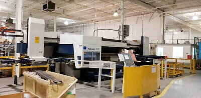 2009 Trumpf Trulaser 2030 Cnc Laser Cutting Machine