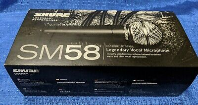 Shure SM58S Vocal Microphone with On/Off Switch (New - In Box)